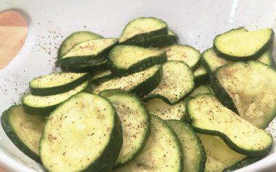 Vegetables for Kids: Sous Vide Zucchini Medallions!