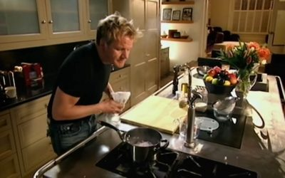 Gordon Ramsey Tutorials on Five Basic Cooking Techniques