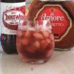 Skinny Cheerwine cocktail