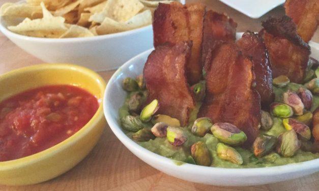 Pistachio Bacon Guacamole Recipe